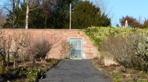 Walled Garden at Woodside near Jedburgh Scottish Borders