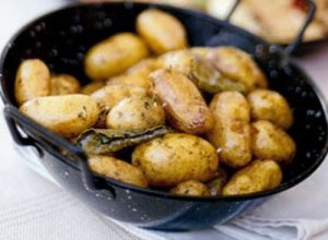 Herby potatoes on the menu at Kailyard
