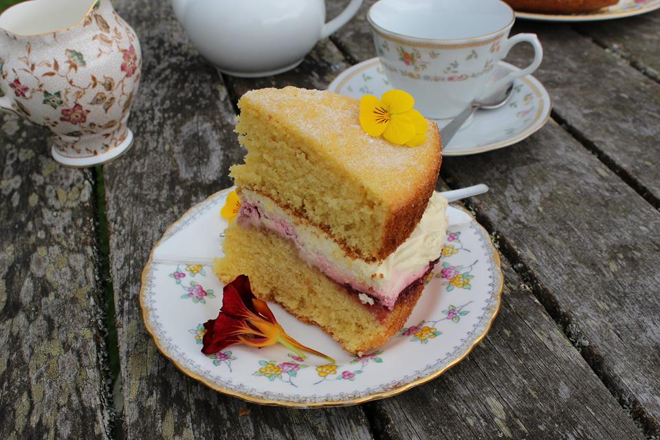 Afternoon tea at the Birdhouse tearoom