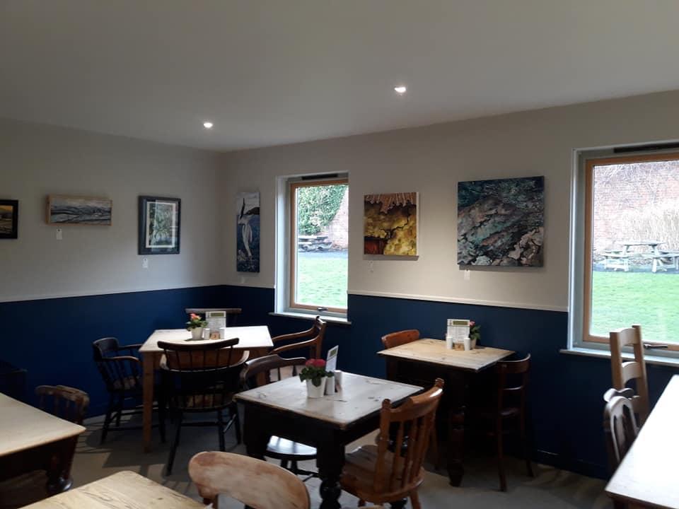 Birdhouse tea room
