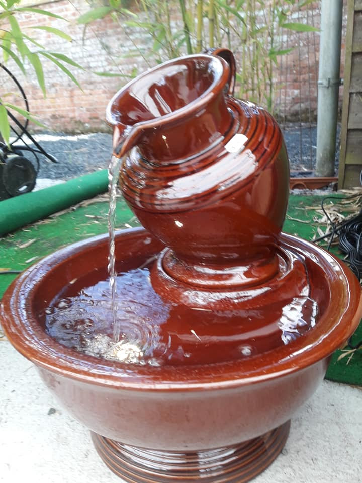 Amalfi self contained water features